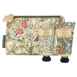 Morris & Co Golden Lily Bath & Body Bag