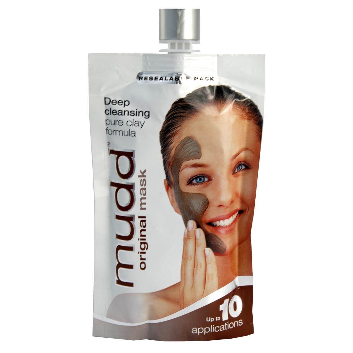 Mudd Original Mask Deep Cleansing Pure Clay Formula - Resealable Pack