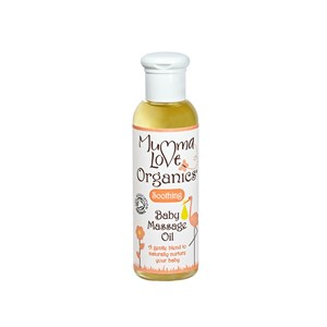 Mumma Love Organics Soothing Baby Massage Oil