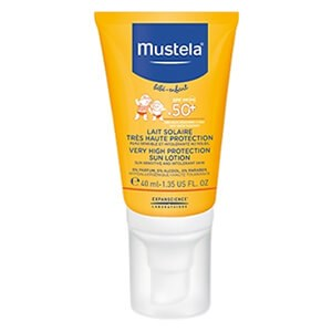 Mustela Bébé Very High Protection Sun Face Lotion SPF50+