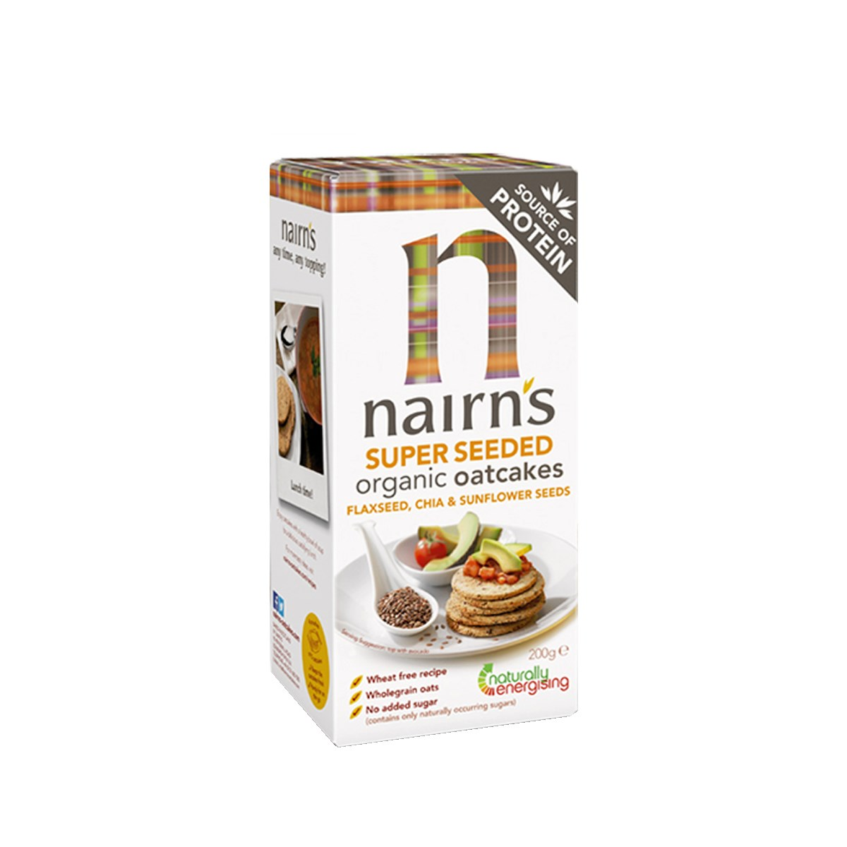 Nairn's Super Seeded Organic Oatcakes