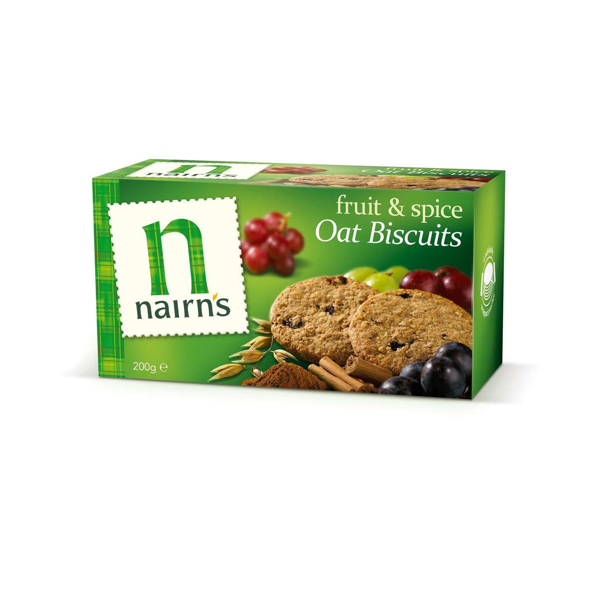Nairn's Oat Biscuits Fruit & Spice