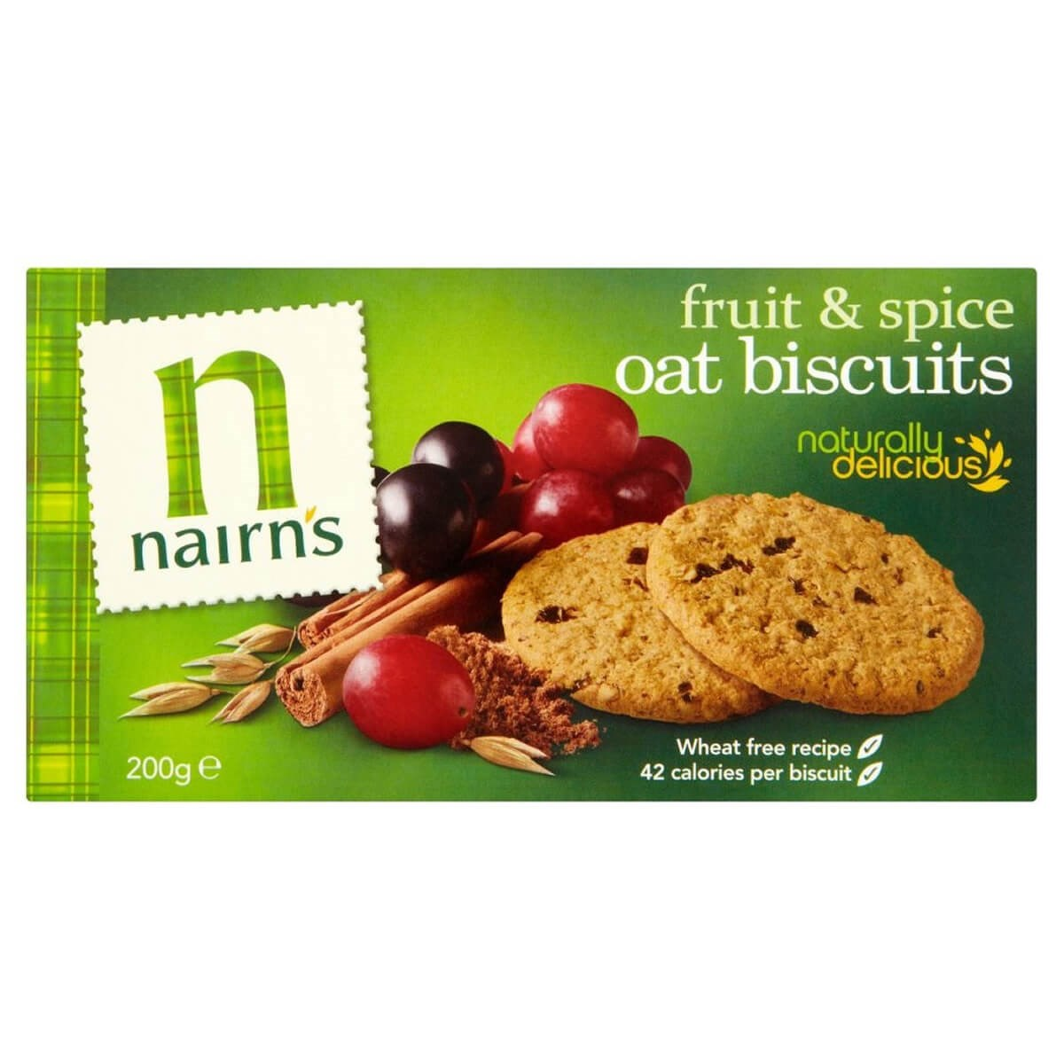 Nairn's Oat Biscuits - Fruit & Spice