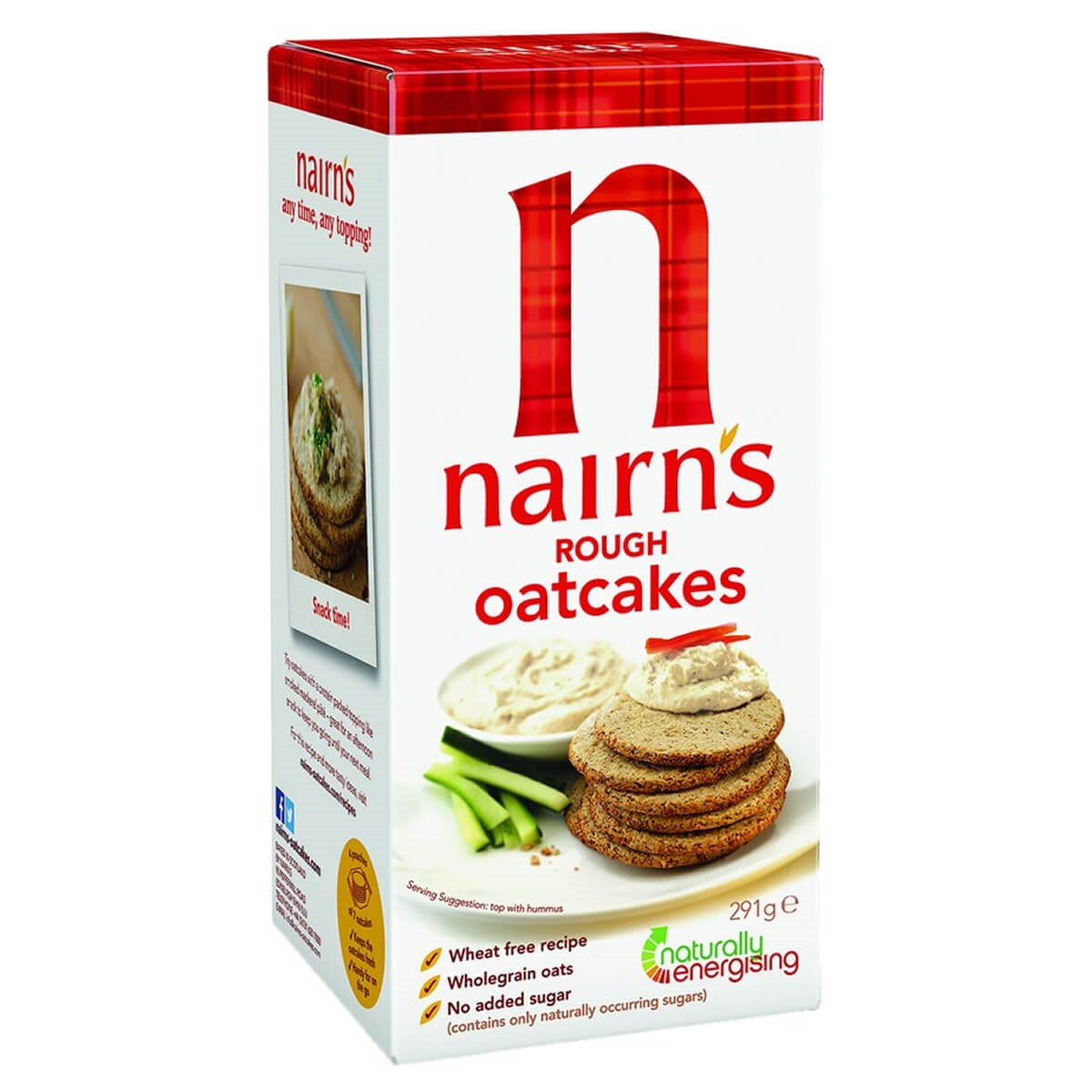 Nairn's Rough Oatcakes