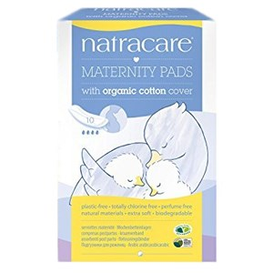 Natracare Organic Cotton Cover Maternity Pads