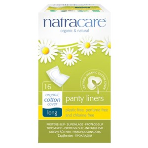 Natracare Organic & Natural Cotton Panty Liners - Long