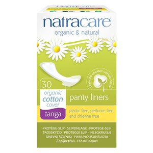 Natracare Organic & Natural Cotton Panty Liners - Tanga