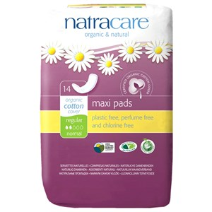 Natracare Organic & Natural Maxi Pads - Regular