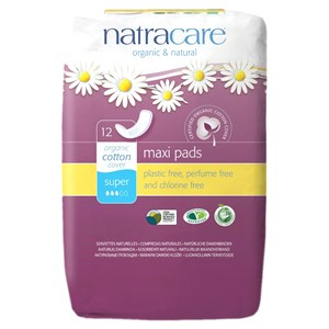 Natracare Organic & Natural Maxi Pads - Super