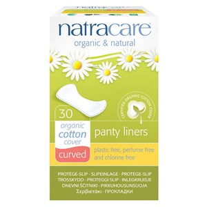 Natracare Organic & Natural Panty Liners - Curved