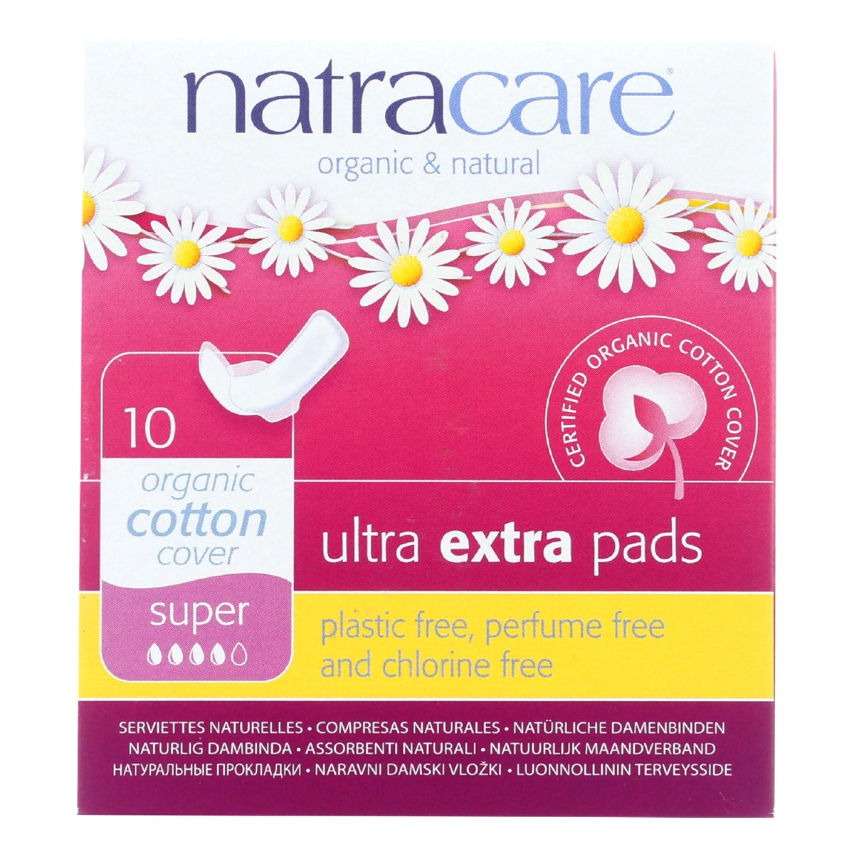 Natracare Organic & Natural Ultra Extra Pads - Super
