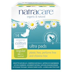Natracare Organic & Natural Ultra Pads - Regular (with wings)