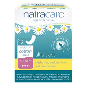 Natracare Organic & Natural Ultra Pads - Super Plus (with wings)