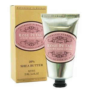 Naturally European Rose Petal Luxury Hand Cream