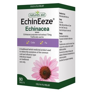 Natures Aid EchinEeze 70mg (Echinacea) Tablets