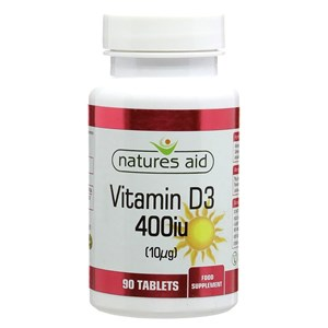 Natures Aid Vitamin D3 400iu