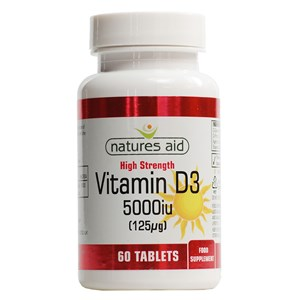 Natures Aid Vitamin D3 5,000iu