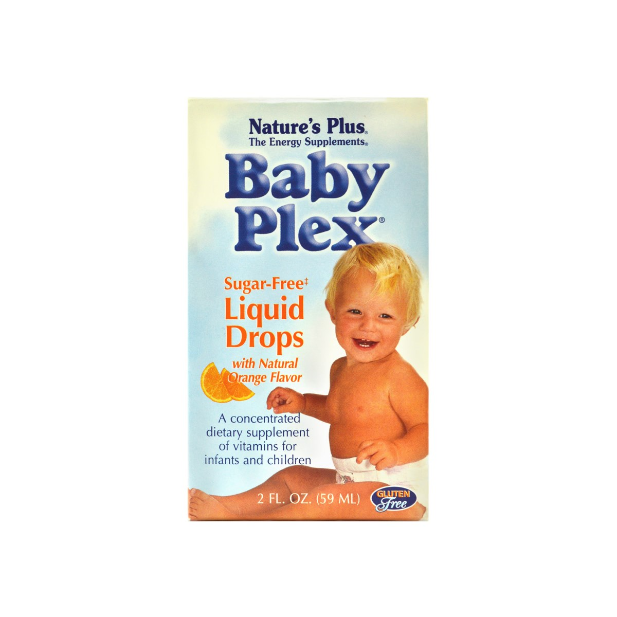 Natures Plus Baby Plex Sugar-Free Liquid Drops