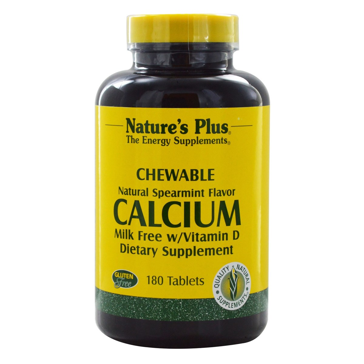 Natures Plus Calcium Milk-Free with Vitamin D Chewables