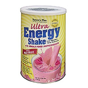 Natures Plus Exotic Red Fruit Ultra Energy Shake