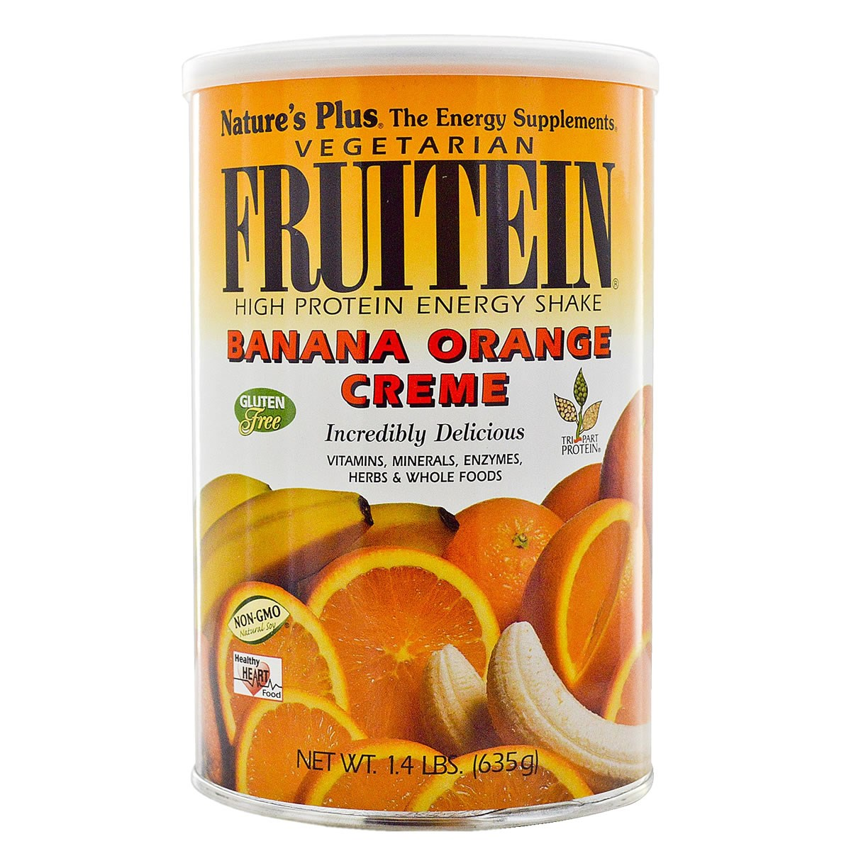 Natures Plus Fruitein - Vegetarian Banana Orange Creme Shake