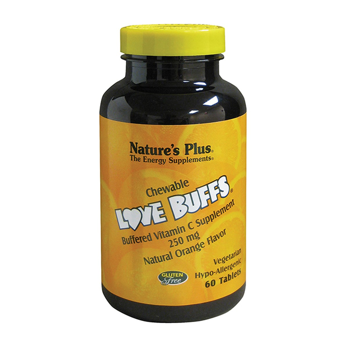 Natures Plus Love Buffs - Chewable Buffered Vitamin C Tablets