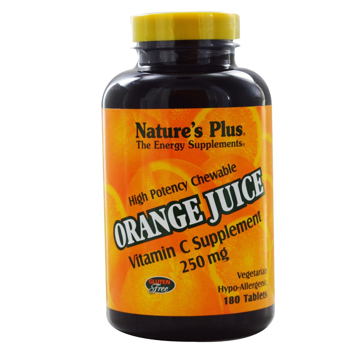 Natures Plus Orange Juice Vitamin C 250 mg - Chewable Tablets