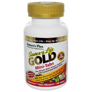 Natures Plus Source of Life GOLD Mini-Tabs