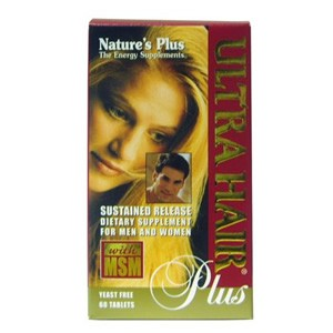 Natures Plus Ultra Hair Plus Sustained Release Tablets