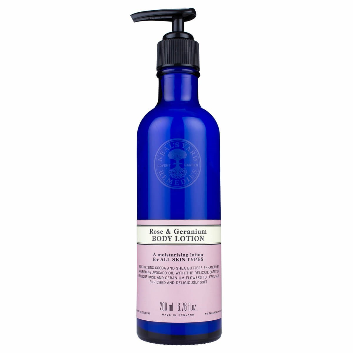 Neal's Yard Rose & Geranium Body Lotion