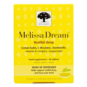 New Nordic Melissa Dream Food Supplement