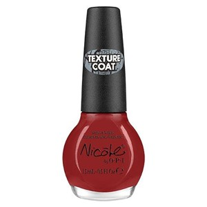 Nicole By OPI Red Texture Coat