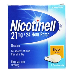 Nicotinell 24 Hour Patch Step 1- 21mg