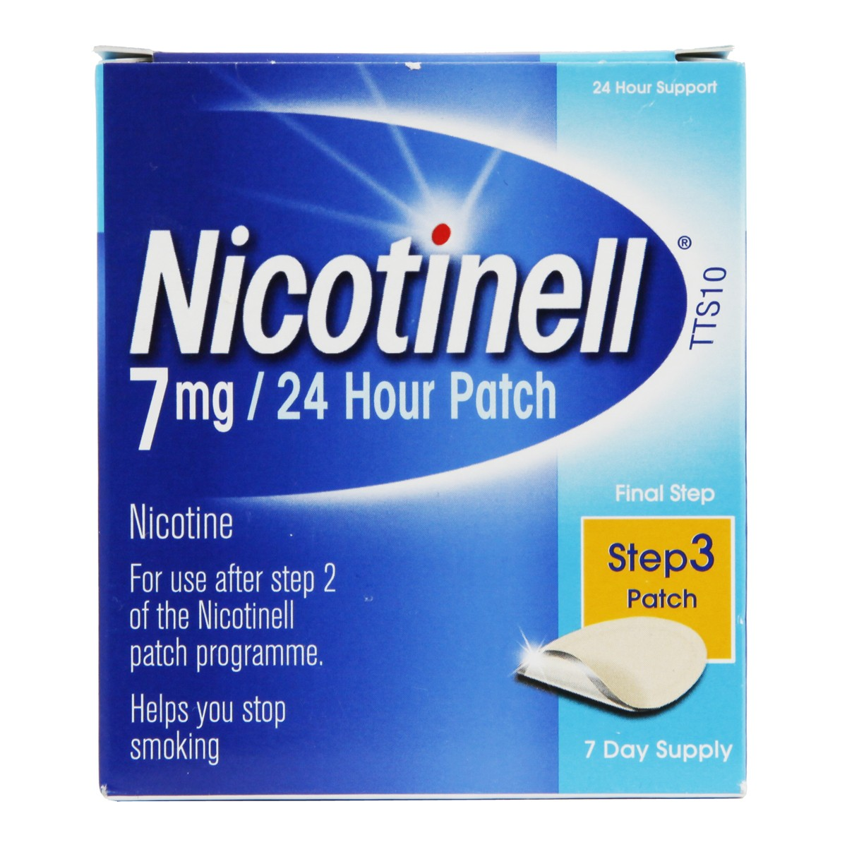 Nicotinell 24 Hour Patch Step 3 - 7mg
