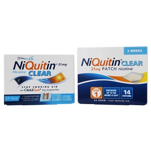 Niquitin Clear Patches 21mg - Step 1
