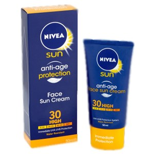 Nivea Sun Anti-Age Protection Face Sun Cream SPF30 High