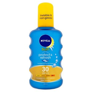 Nivea Sun Protect & Refresh Invisible Cooling Sun Spray SPF30 High