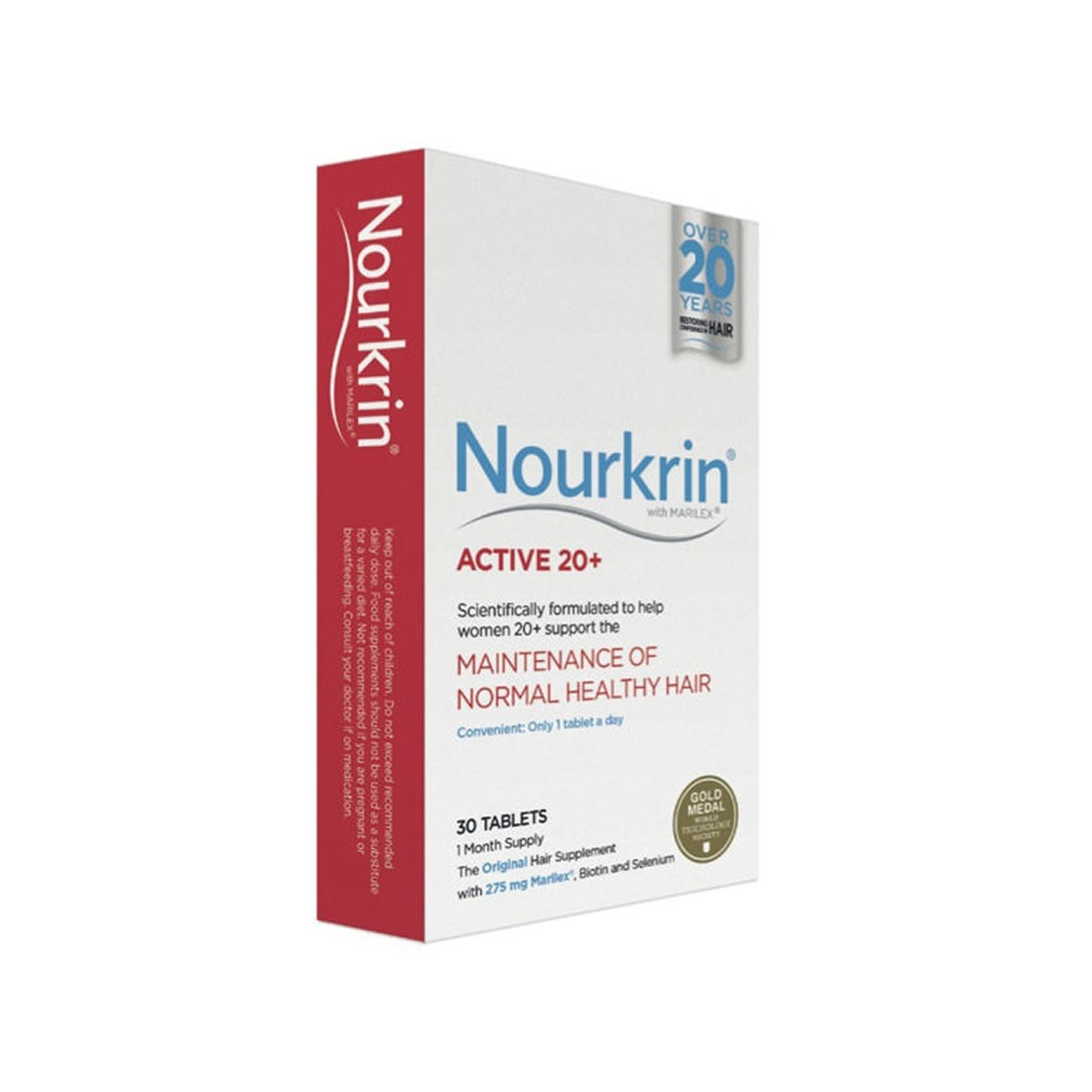 Nourkrin Active 20+ (1 Month Supply)