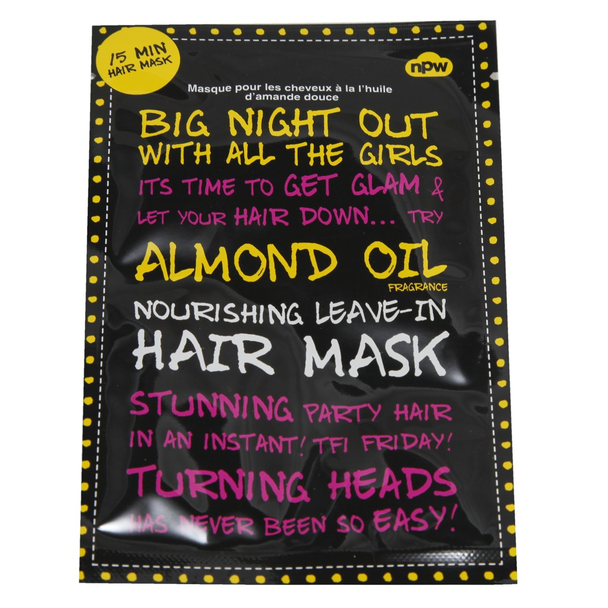 NPW Nourishing Leave-in Hair Mask with Almond Oil