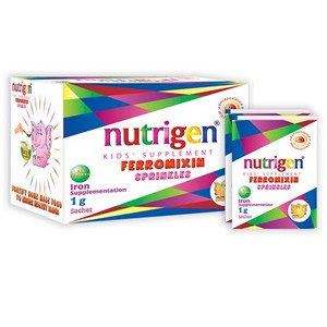 Nutrigen Kids' Ferromixin Sprinkles Iron Formulation