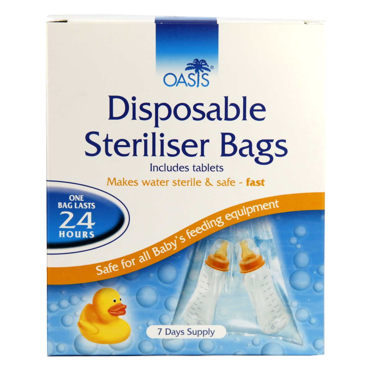 Oasis Disposable Steriliser Bags