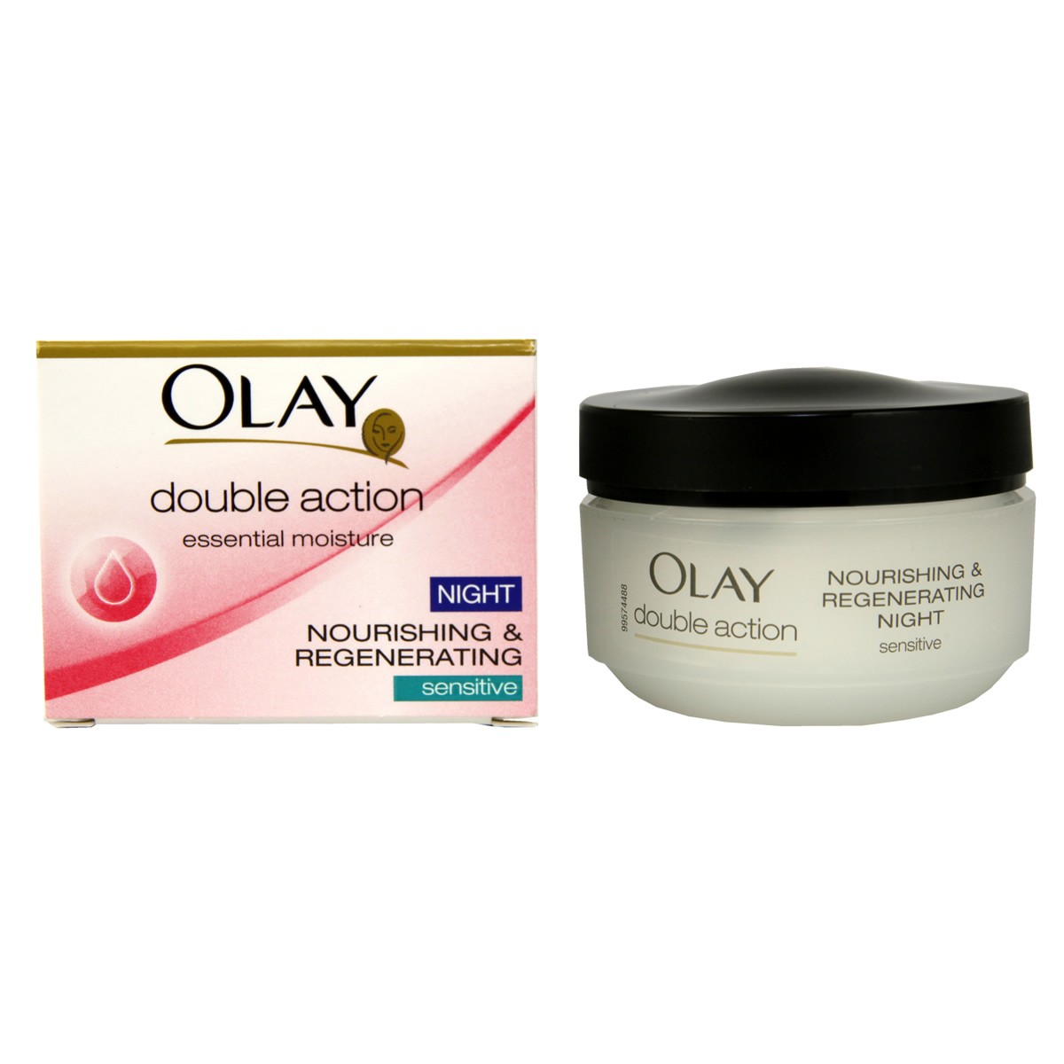 Olay Double Action Nourishing & Regenerating Night Cream - Sensitive Skin
