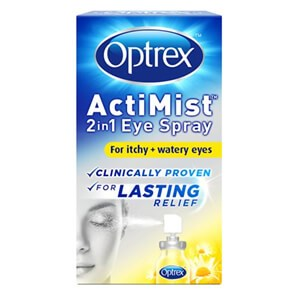 Optrex ActiMist 2in1 Eye Spray - Itchy & Watery Eyes