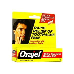 Orajel Dental Gel Extra Strength