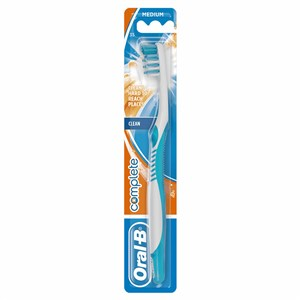 OralB Complete Clean Manual Toothbrush  35 Medium Male Colours