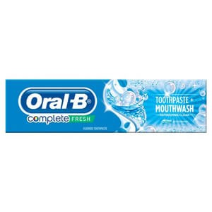 Oral-B Complete Fresh Mouthwash + Toothpaste