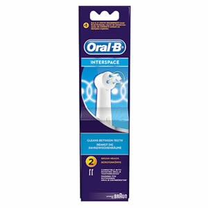 Oral-B Interspace Replacement Brush Heads