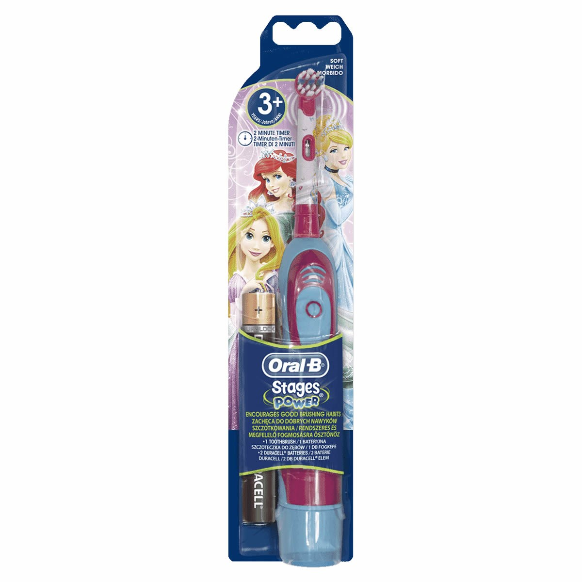 Oral-B Stages Power Kids Battery Toothbrush (3+ Years)
