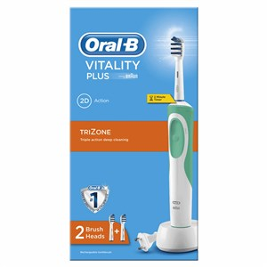 OralB Vitality Plus TriZone Rechargeable Electric Toothbrush