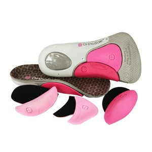 OrthoSole Customizable Insoles 3/4 Max Cushion for Women